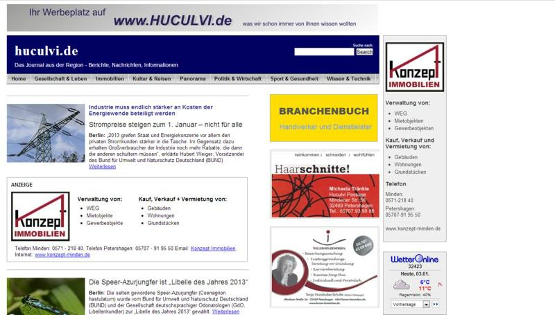 web design it service huculvi das journal aus der region archive it service. Black Bedroom Furniture Sets. Home Design Ideas